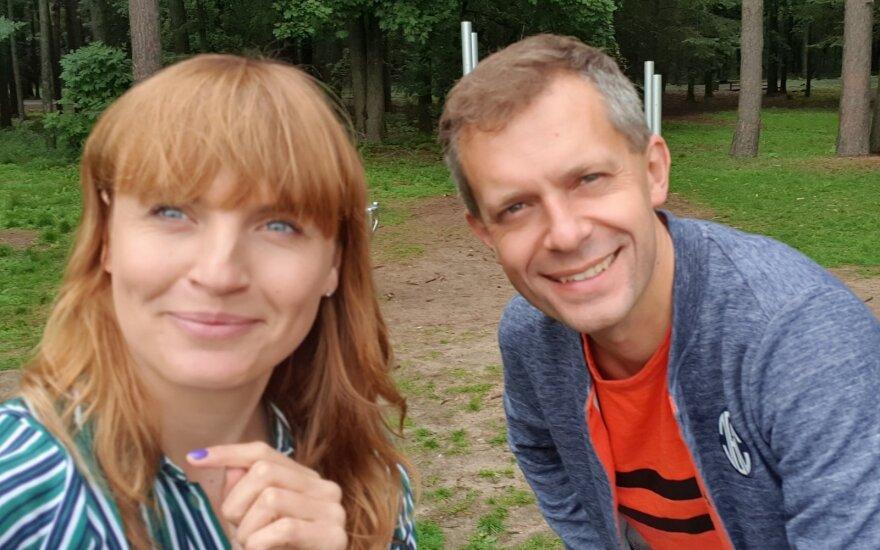 Vlada Musvydaitė ir Andrius Tapinas kviečia Baltijos kelio iššūkiui: sieks nueiti 650 tūkst. kilometrų