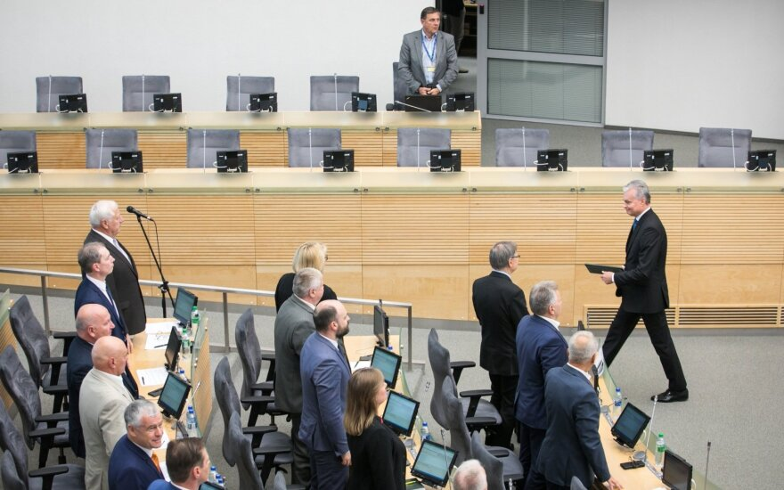 Президент Литвы вернул Сейму на дорассмотрение поправку к закону о лесах