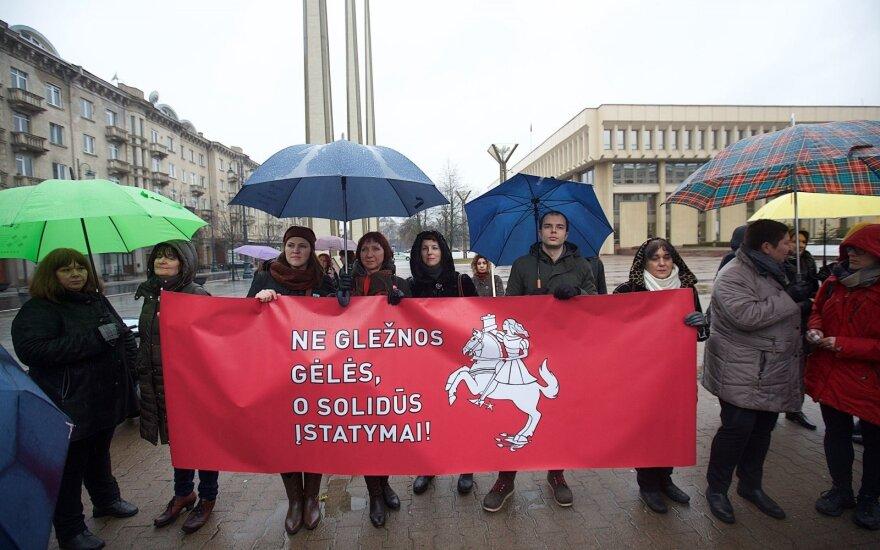 В Вильнюсе состоится шествие женской солидарности