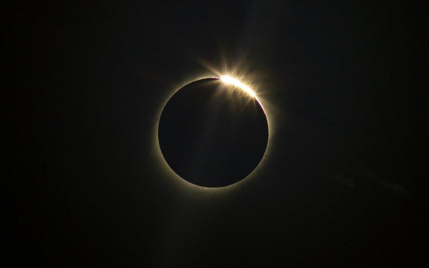 Saulės užtemimas Čilėje ir Argentinoje