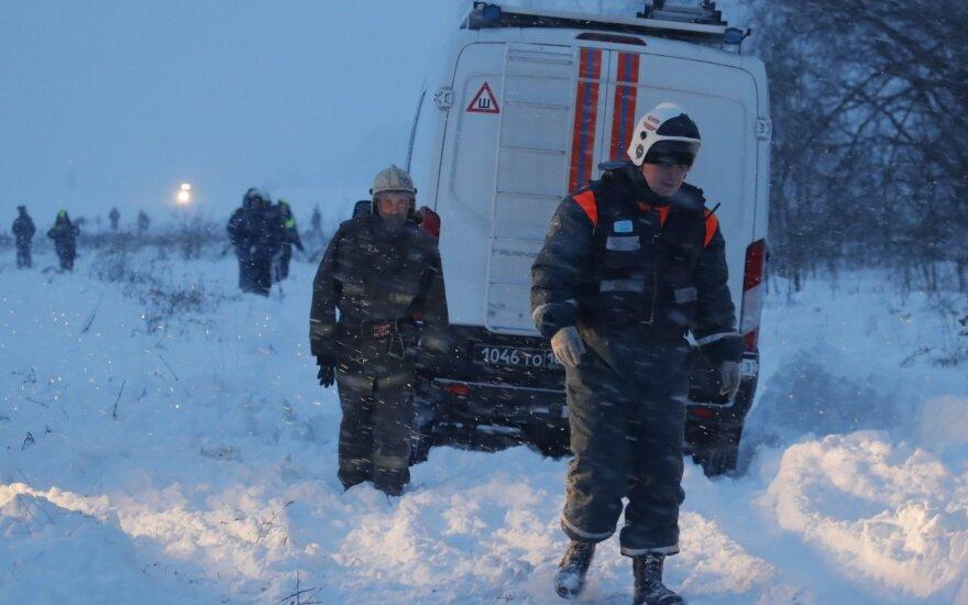 Глава МЧС России объявил о переходе спасательной операции в районе бедствия Ан-148 в стадию поисковой