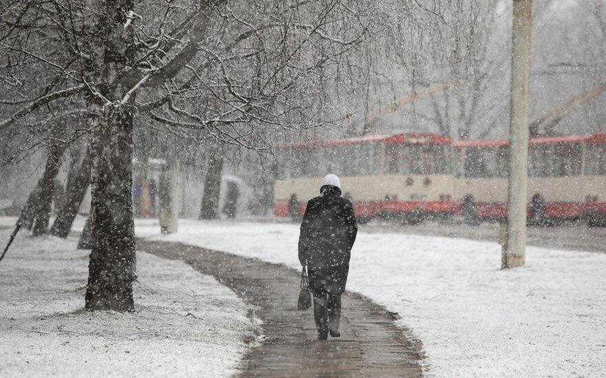 С понедельника ждут перемены: пойдет снег
