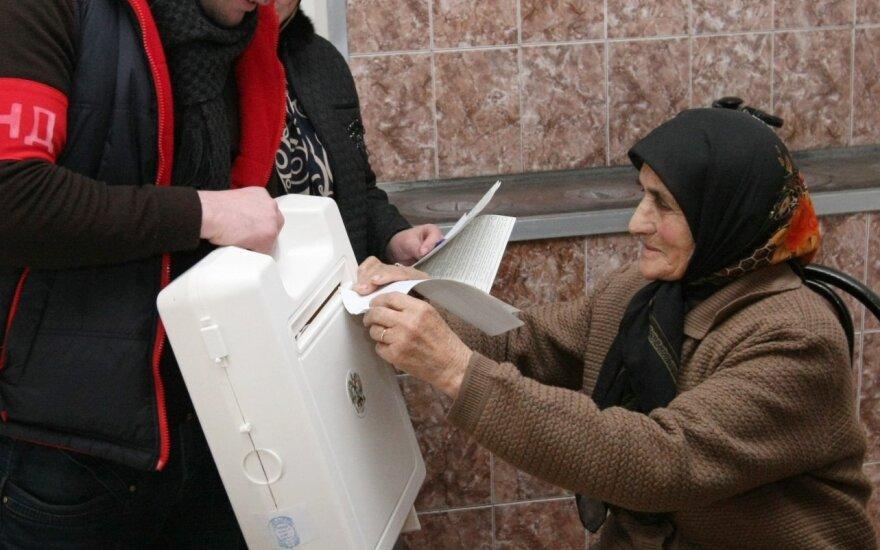 Rinkimai Čečėnijoje į Rusijos Dūmą