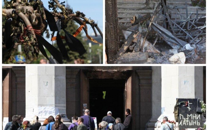 DELFI в Одессе: у здания Дома профсоюзов - траур, теории заговоров и поиски виноватых