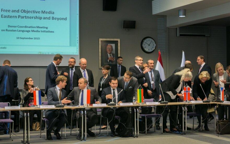 Spotkanie o rosyjskojęzycznych inicjatywach medialnych. Foto: MSZ RP