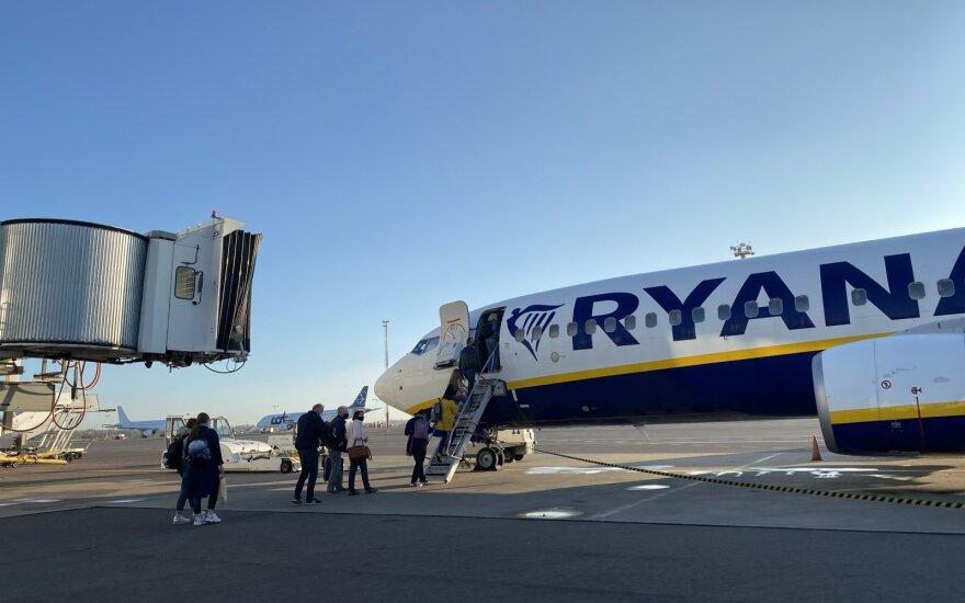 В октябре пассажиропоток в аэропортах Литвы сократился на 20%