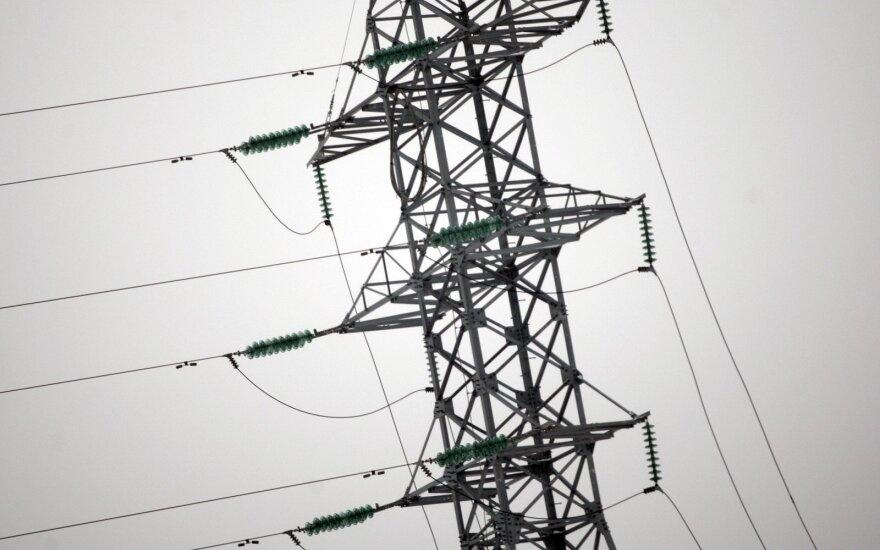 Из-за плохой погоды в Литве без электроснабжения осталось 2400 потребителей