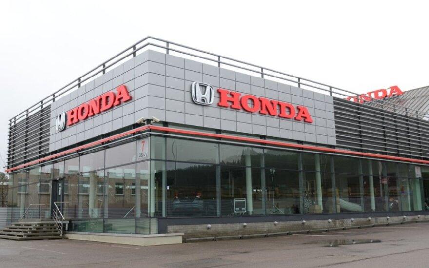 В Вильнюсе открылся крупнейший в стране салон Honda