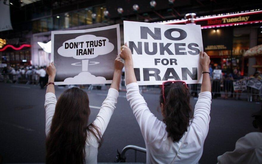 Тысячи американцев в Нью-Йорке протестуют против соглашения с Ираном