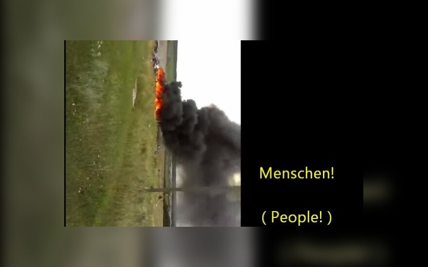 """Опубликовано новое видео с места падения """"Боинга"""" под Донецком"""