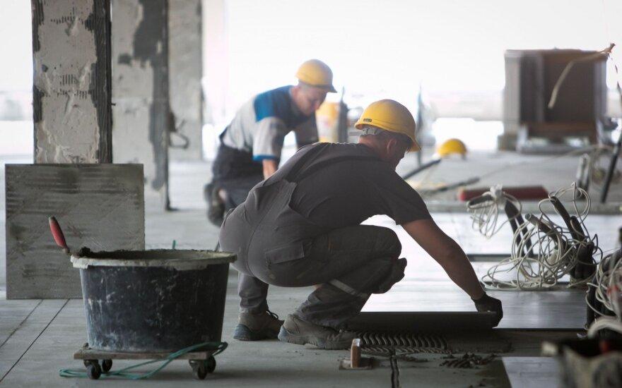 Рабочие из Украины открывают для себя Литву
