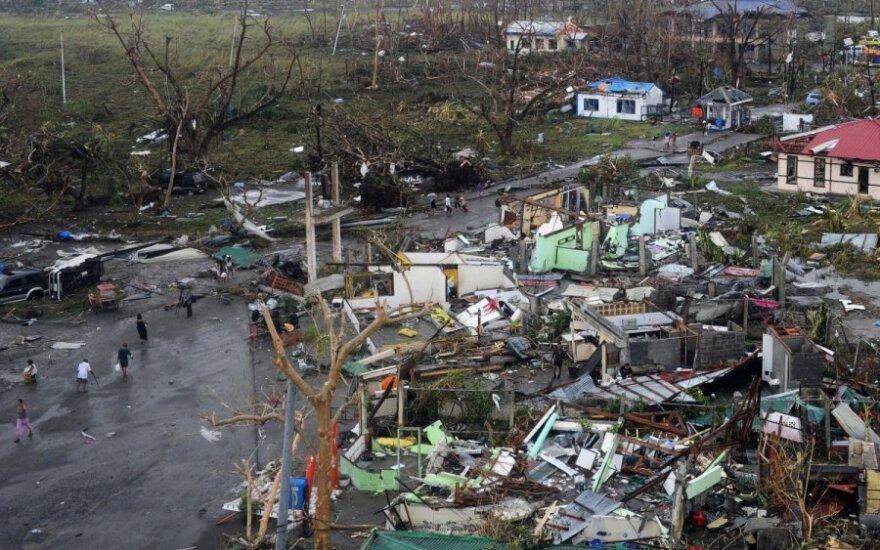 Supertajfun ogarnął Filipiny