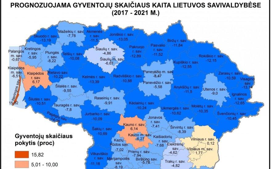 Prognostinis Lietuvos gyventojų kaitos 2017-2021 m. laikotarpyje tyrimas - 5