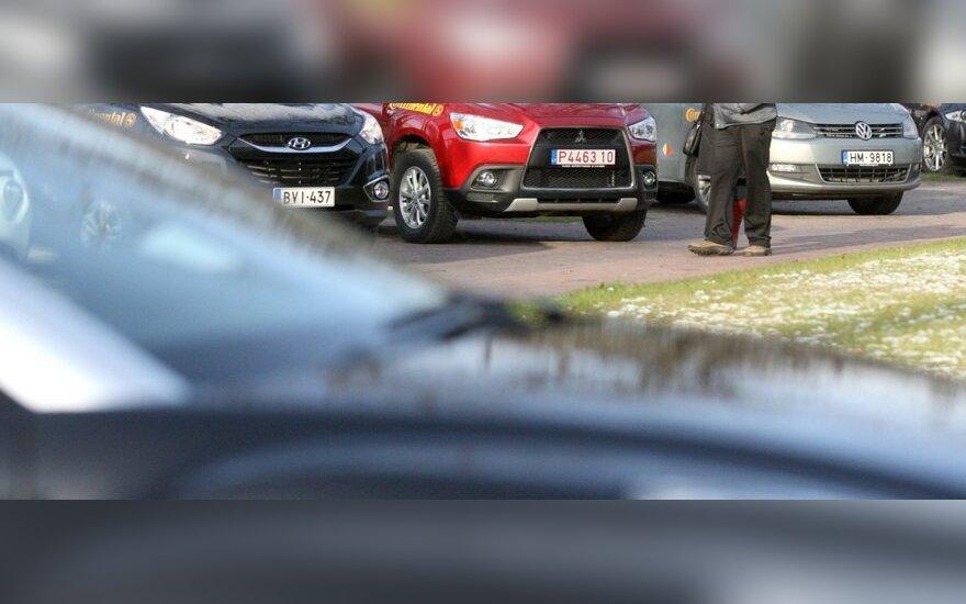 Литва становится местом скупки старых машин