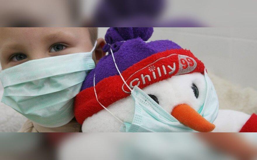 В Литве от свиного гриппа умерло 17 человек
