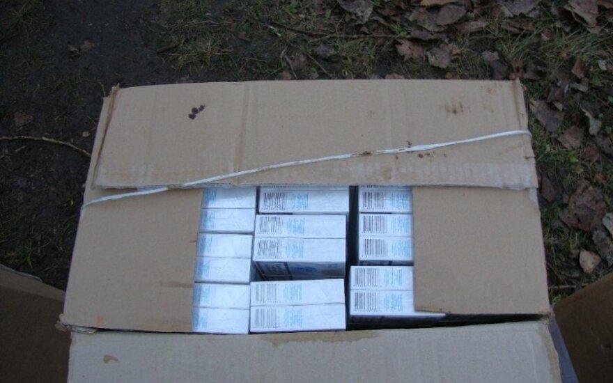 В грузовике россиянина обнаружены контрабандные сигареты на миллион