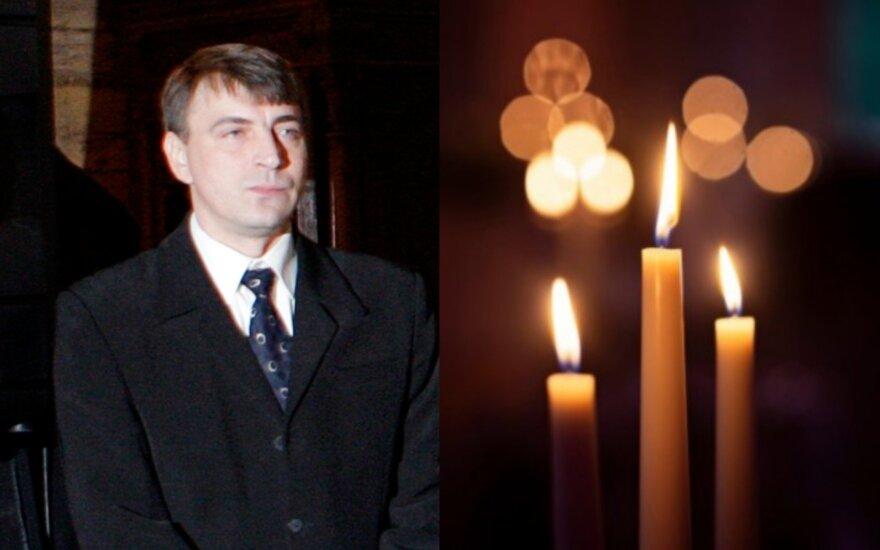Mirė aktorius Almantas Vaišnys