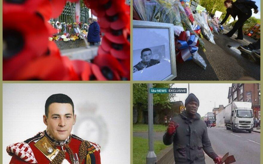 Londone nužudytas karys