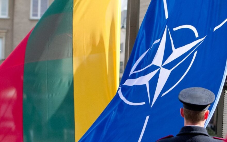 Суда эскадры Балтийских стран тренируются в Балтийском море