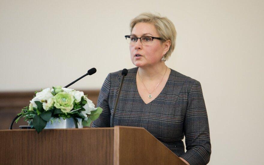 По истечении срока полномочий уволена глава Департамента нацменьшинств Литвы