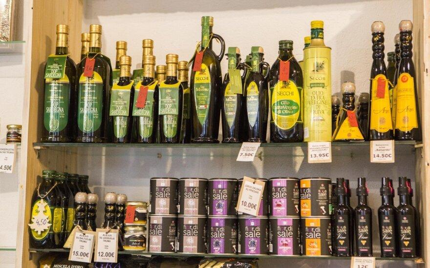 Сардиния в Литве: оливковое масло стоит 16 евро