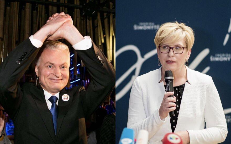 Почему жители Литвы голосовали за Науседу, а не за Шимоните: три причины