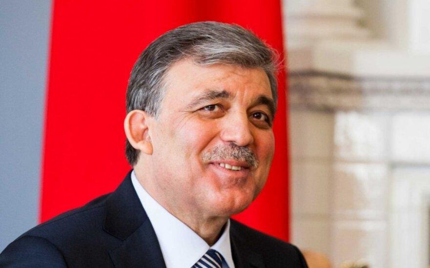 Turkijos prezidentas Abdullah Gulu