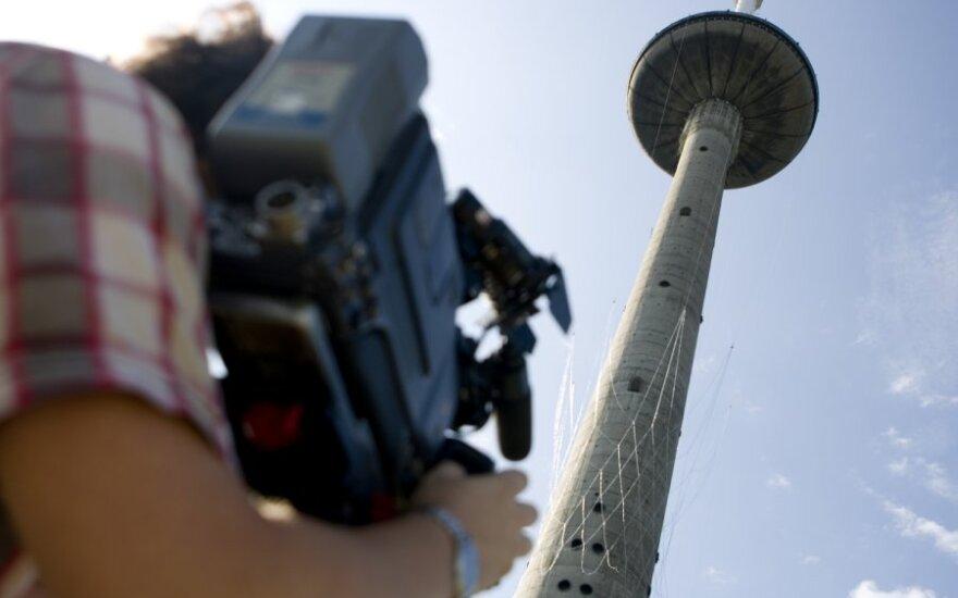 Į Vilniaus televizijos bokštą keliamas didžiulis, analogų pasaulyje neturintis, simbolinis krepšinio krepšys