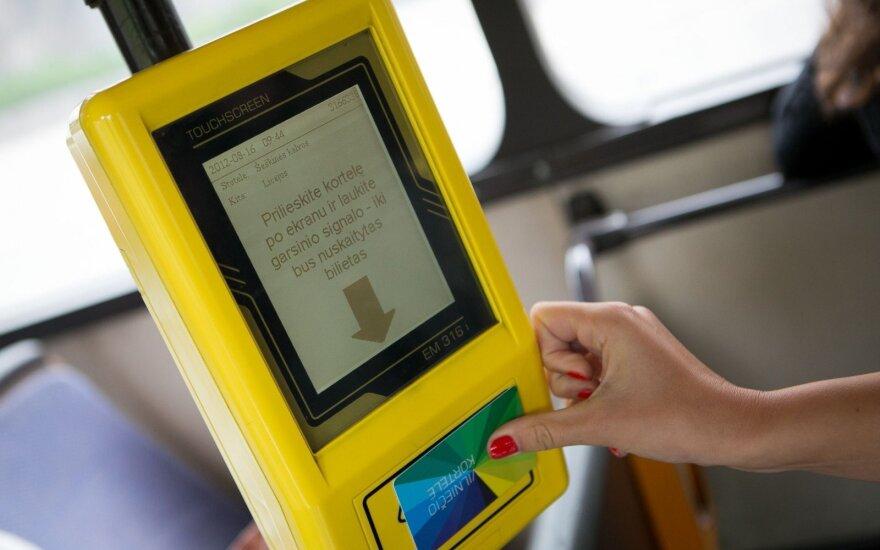 Автобусы и троллейбусы в Вильнюсе перекрасят в красный и желтый цвет