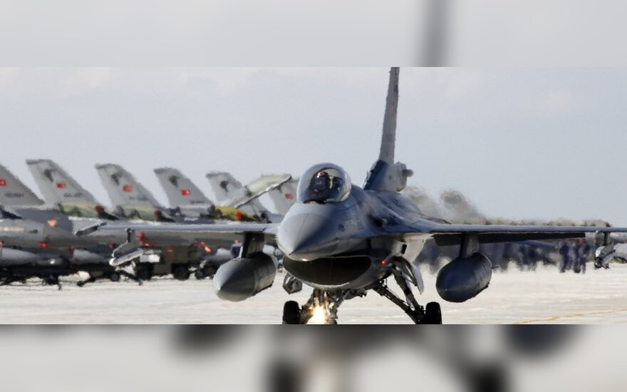 Turkijos naikintuvas F-16