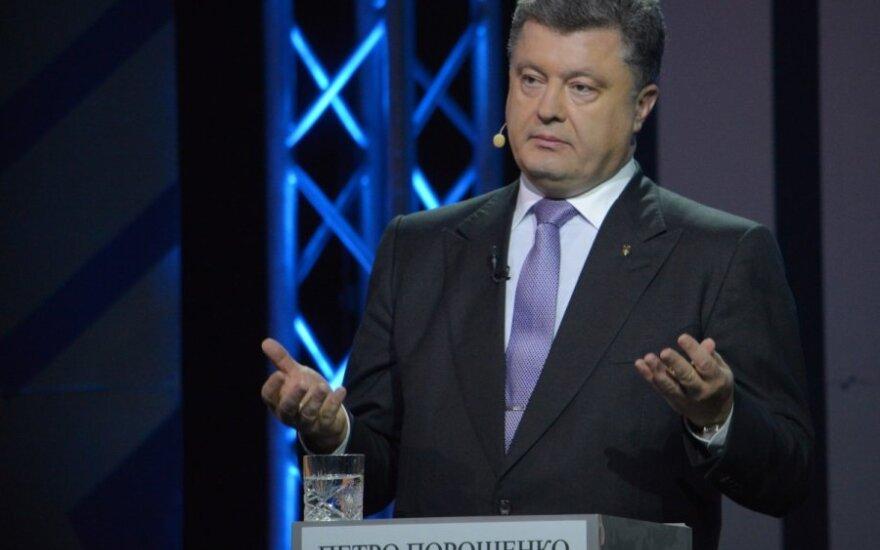 Poroszenko stawia na współpracę z USA, a nie z UE