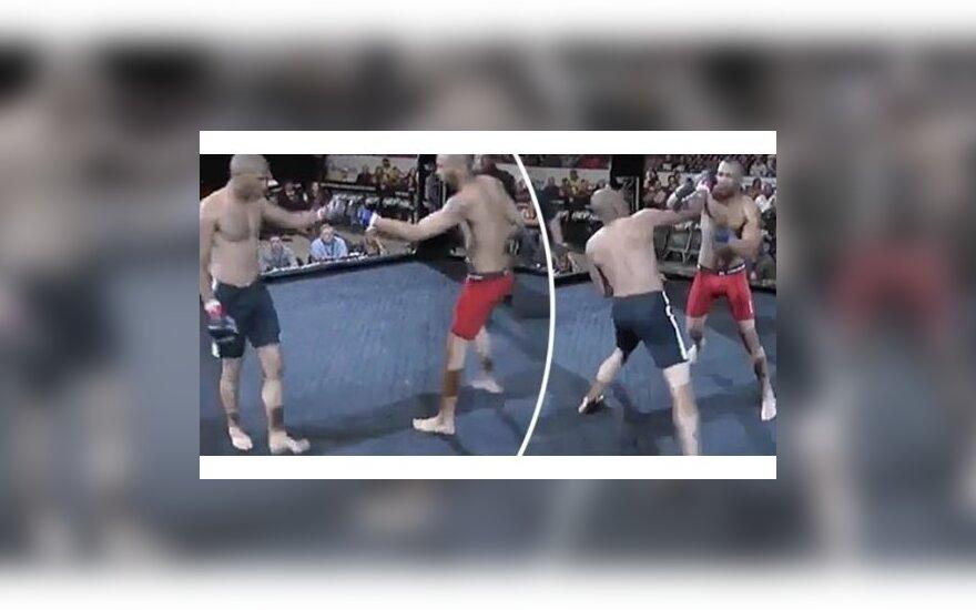 ВИДЕО: Бойцу ММА на два нокаута потребовалось всего 24 секунды