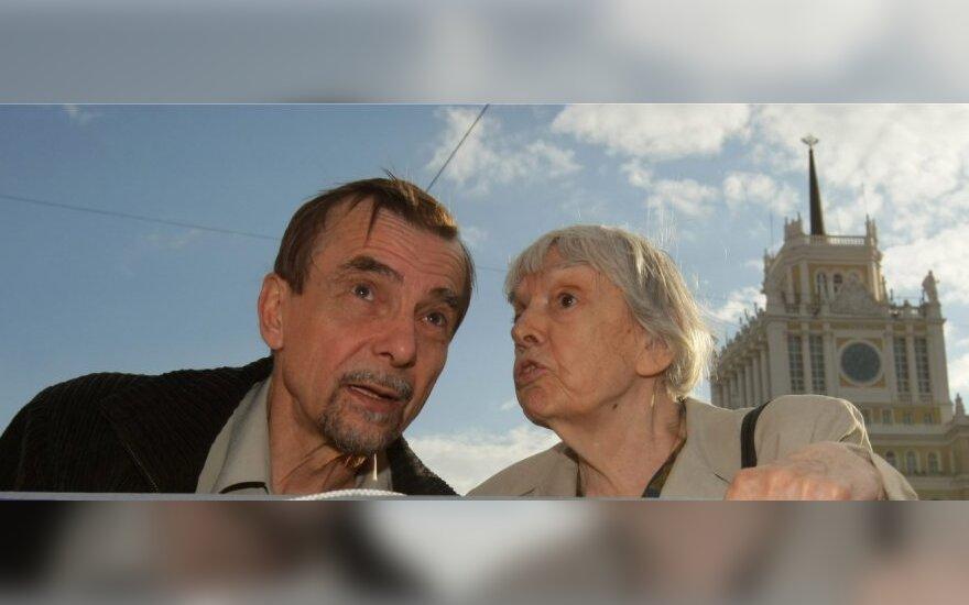 Levas Ponomariovas ir Liudmila Aleksejeva