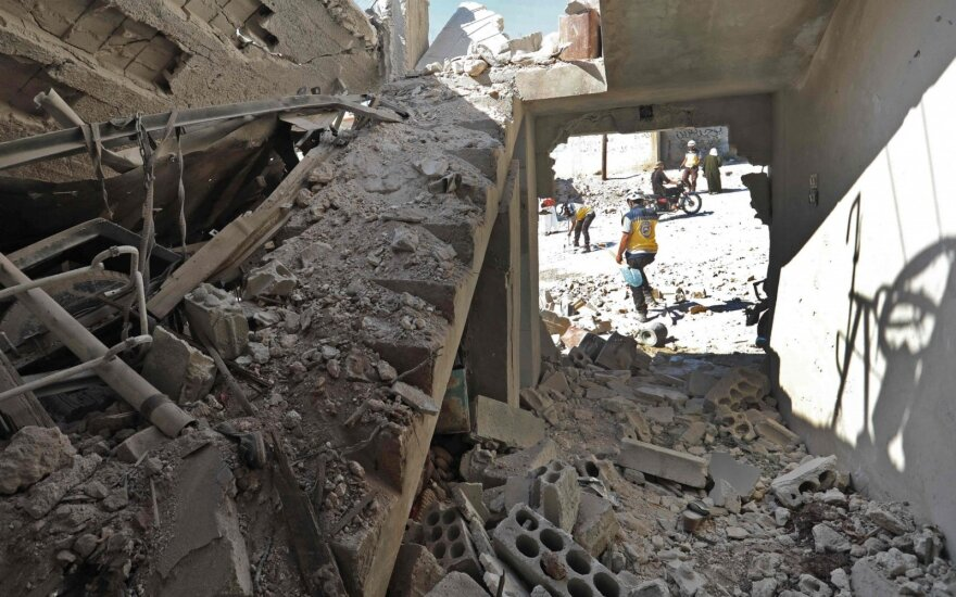 Женщина и ребенок из России погибли при бомбардировке в Сирии