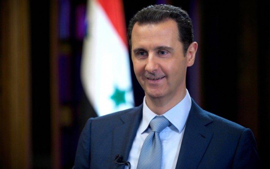 Башар Асад выразил уверенность в поддержке России и Ирана