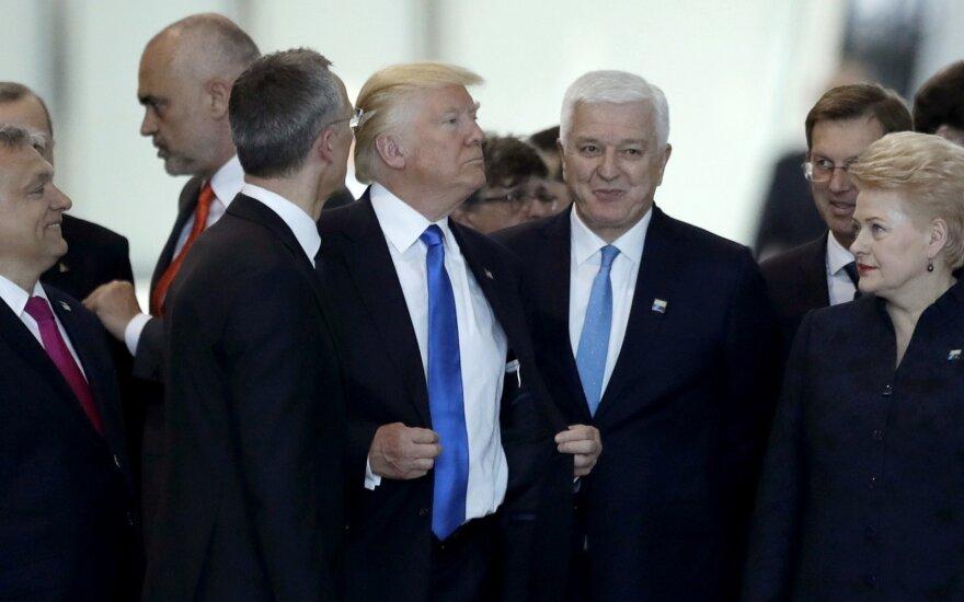 Donaldas Trumpas, Duško Markovičius, Dalia Grybauskaitė