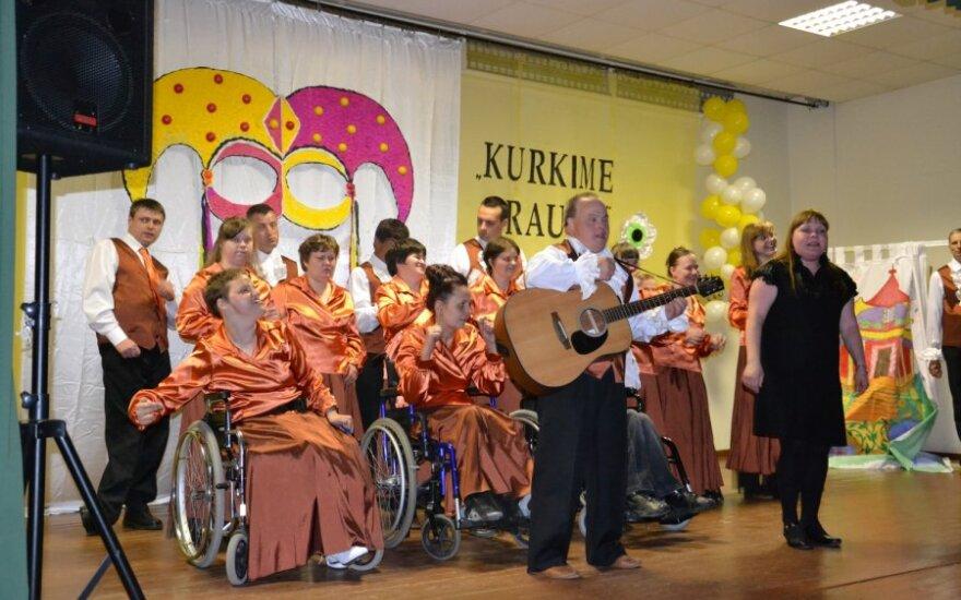 """II Festiwal Artystyczny Placówek Socjalnych """"Twórzmy razem"""", fot. Samorząd rejonu wileńskiego"""