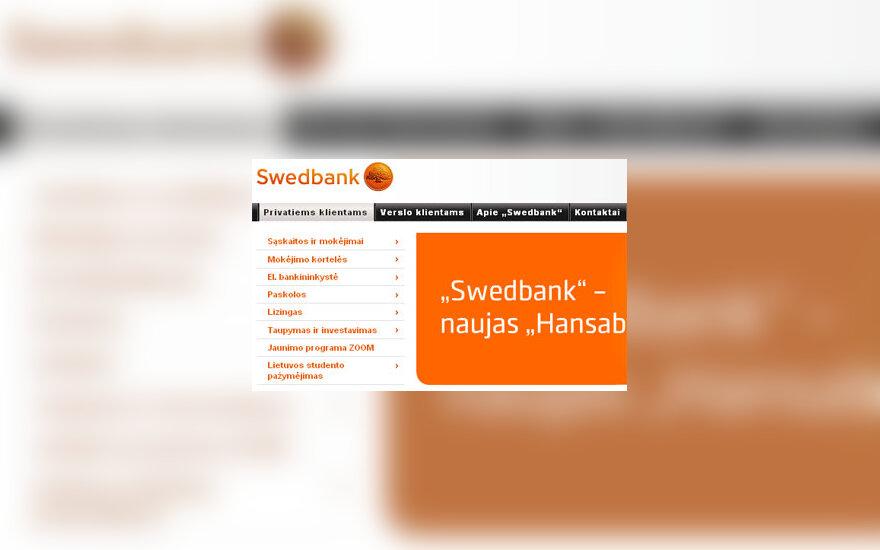 """Bankas """"Swedbank"""""""