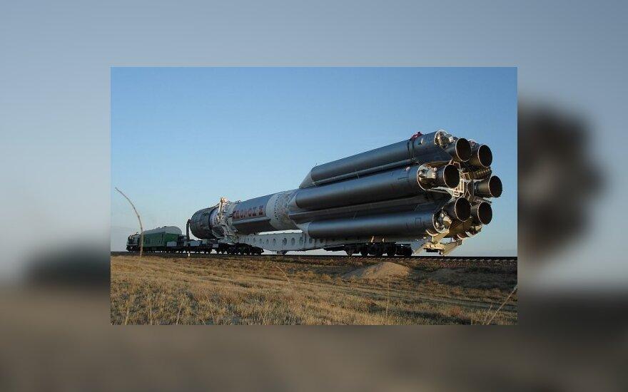 "Ракета-носитель ""Протон-М"". Фото с сайта ""Роскосмоса"""