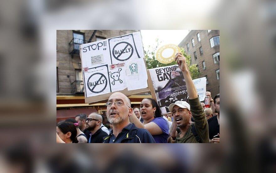 Убийство гея привело к многотысячному протесту в Нью-Йорке