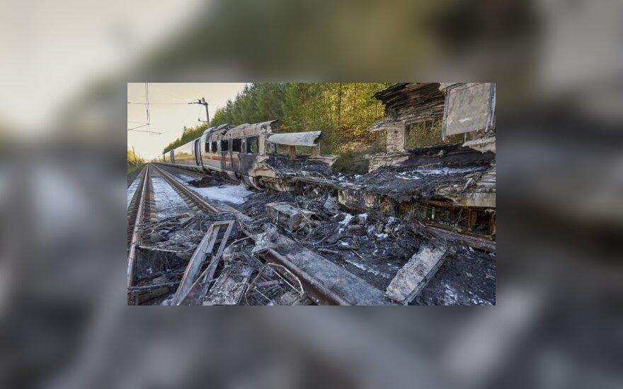 ВИДЕО: в Германии на ходу загорелся поезд с сотнями пассажиров
