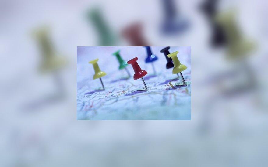 Žemėlapis, sklypas, ribos
