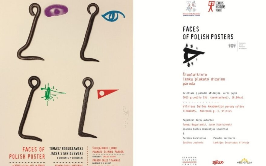 Faces of polish poster