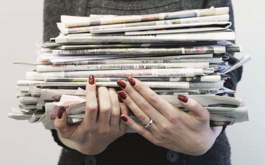 Na Litwie zaufanie do prasy najniższe od 15 lat