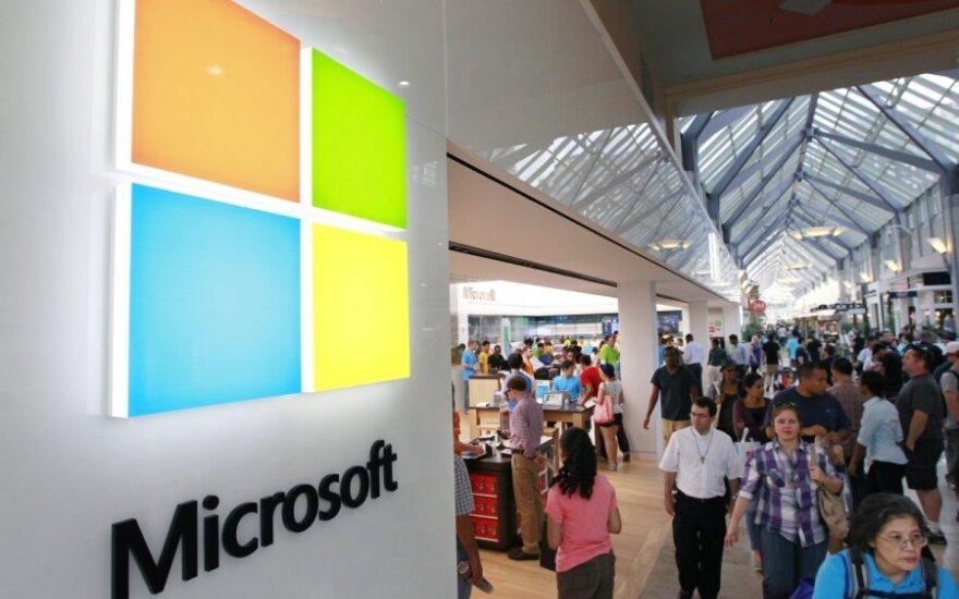 """Naujas """"Microsoft"""" logotipas"""