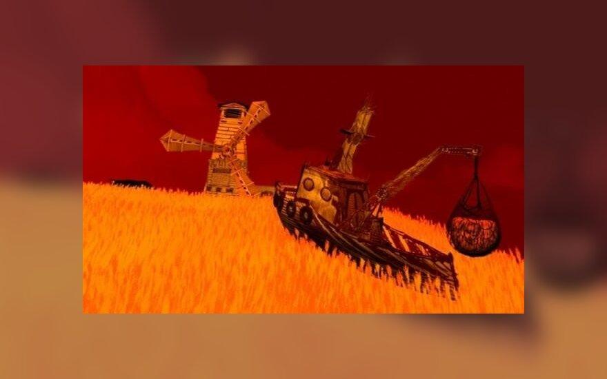 "Fot. kadr z filmu animowanego ""Summertime"""