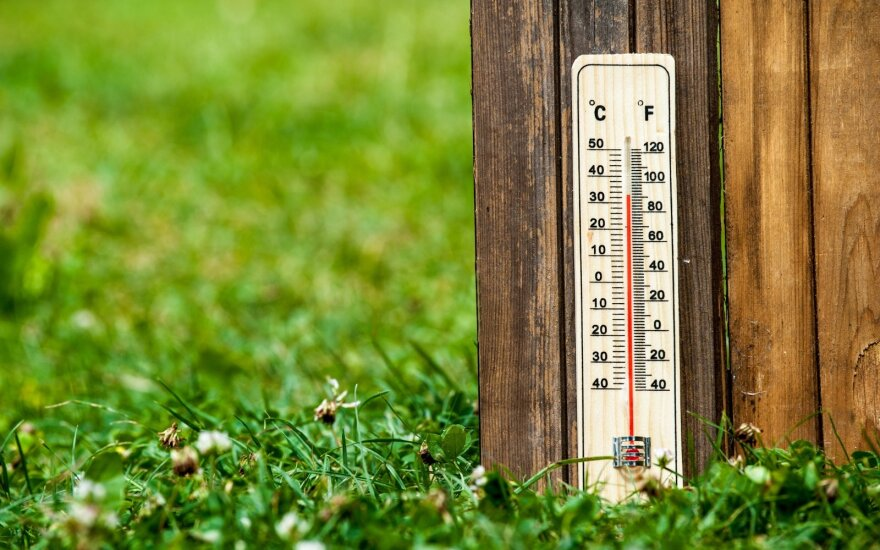 Климатолог: жара в Литве все чаще и интенсивнее по причине климатических изменений