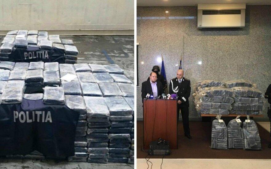 Румынская правоохрана объявила фамилии задержанных за контрабанду кокаина литовцев