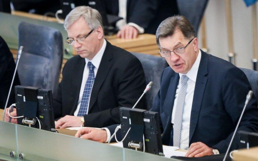 Премьер: пока не ощущаем, чтобы экономическая ситуация в Литве ухудшалась
