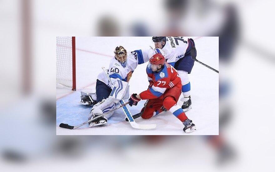 Сборная России обыграла финнов, впереди полуфинал с Канадой